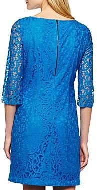 JCPenney 9 & Co.® Lace Shift Dress