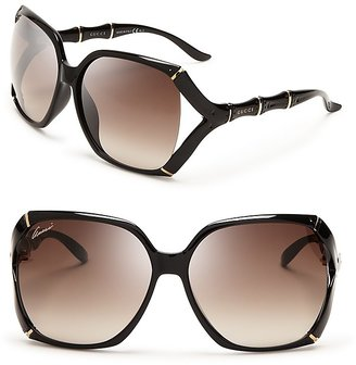 Gucci Oversized Rounded Square Sunglasses