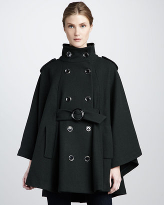 Rachel Zoe Candice Cape-Sleeve Coat