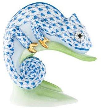 Herend Porcelain Chameleon Figurine