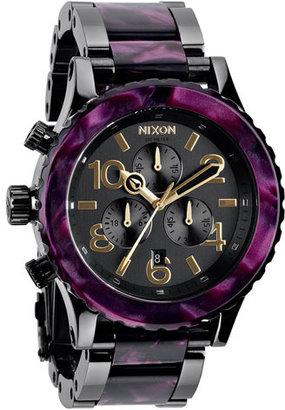 Nixon 'The 42-20 Chrono' Watch