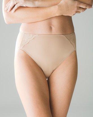 Soma Intimates w/Lace High Leg Brief