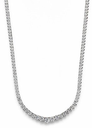 Bloomingdale's Diamond Tennis Necklace in 14K White Gold, 10.0 ct. - 100% Exclusive