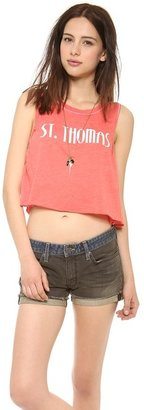 Wildfox Couture St. Thomas Crop Top