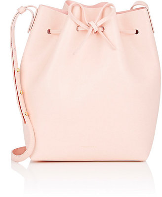 Mansur Gavriel Women's Saffiano Large Bucket Bag $625 thestylecure.com