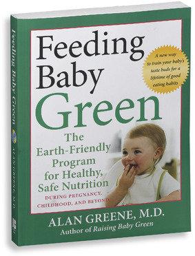 "Bed Bath & Beyond ""Feeding Baby Green"" Book"