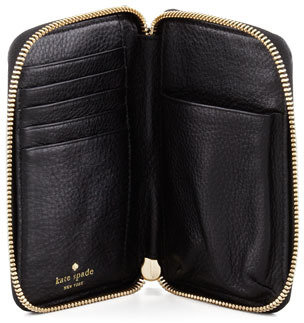 Kate Spade Louis Phone Wristlet Wallet, Black