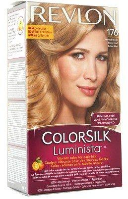 Revlon ColorSilk Luminista Vibrant Color for Dark Hair Honey Blonde (176)