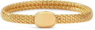 MONET JEWELRY Monet Gold-Tone Magnetic Closure Bracelet $20 thestylecure.com