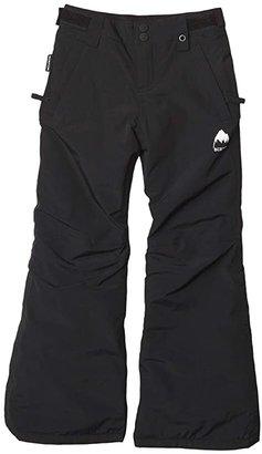 Burton Girls Sweetart Pant (Little Kids/Big Kids) (True Black 3) Girl's Casual Pants