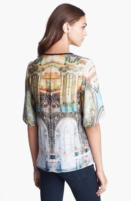 Clover Canyon 'Grand Finale' Sequin Print Top