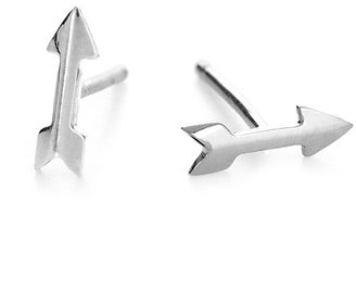 Adina Tiny Arrow Studs