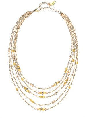 Coldwater Creek Confetti sparkle tiered necklace