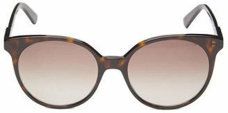 Gucci Slim Round-Frame Acetate Sunglasses