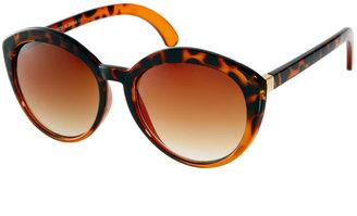 Asos Highbrow Oversized Round Sunglasses
