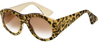 Christian Lacroix Vintage leopard print sunglasses