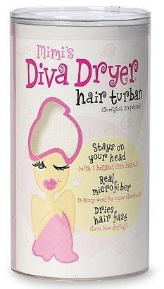 Aquis Mimi's Diva Dryer Hair Turban White