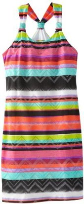 Nicole Miller Girls 7-16 Jersey With Burnout Dress