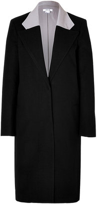 Helmut Lang Meta Coat in Black