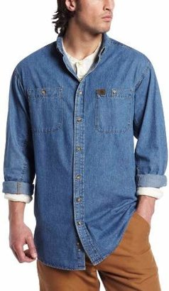 Wrangler RIGGS WORKWEAR Men's Big and Tall Denim Work Shirt