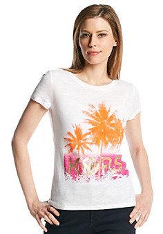 MICHAEL Michael Kors Printed Logo Top