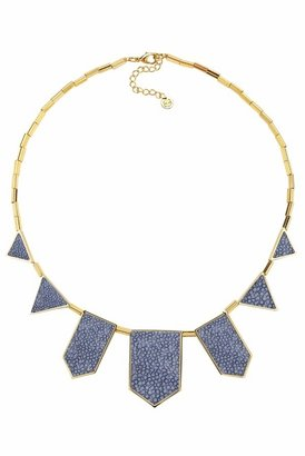 House Of Harlow Blue Star Five Station Necklace