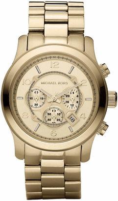 Michael Kors Golden Oversized Runway Watch