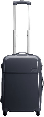 """Lipault Gray Four-Wheeled 22"""" Carry-On"""