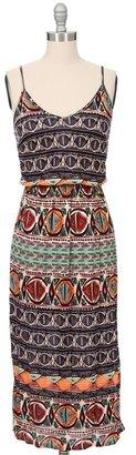 Eight Sixty Mayan Stripe Cami Dress