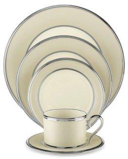 """Lenox Ivory Frost"""" Bread & Butter Plate"""