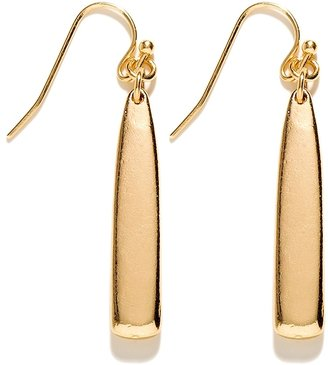 The Limited Metal Bar Drop Earrings