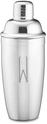 Williams-Sonoma Monogrammed Stainless-Steel Cocktail Shaker