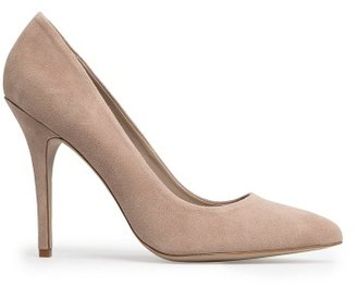 MANGO Touch - Suede Stiletto Shoes