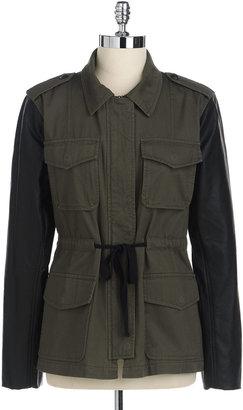 Sanctuary Vegan Sleeve Army Jacket
