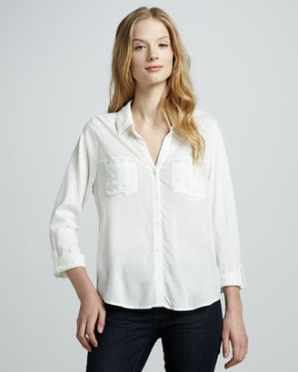 Soft Joie Brady Pleated Blouse