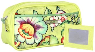 Oilily Flower Tope Pouch (Lime) - Bags and Luggage