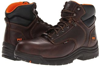 Timberland Titan 6 Composite WP (Dark Brown) Men's Work Boots