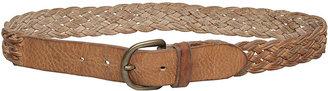 Golden Goose Braided Leather Belt