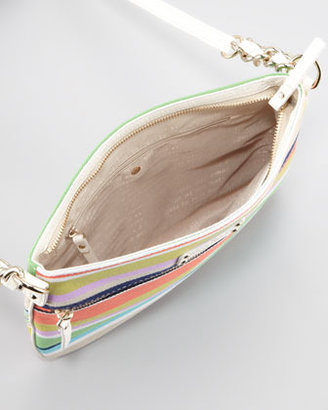 Kate Spade Cobble Hill Stripe Ellen Crossbody Bag