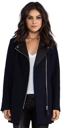 Mackage Phylis Flat Wool Coat