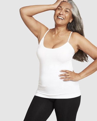Boody Organic Bamboo Eco Wear - Women's White T-Shirts & Singlets - 2 Pack Cami Top - Size One Size, XS at The Iconic