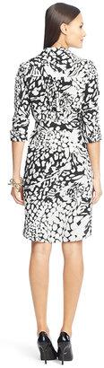 Diane von Furstenberg Prita Silk Shirt Dress