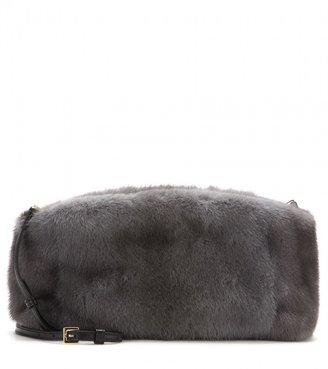 Burberry Chichester Small mink fur clutch