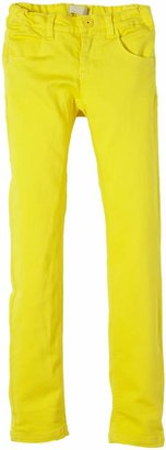 Name It Girls' Jeans Yellow - Gelb (Green Sheen) 12 Years