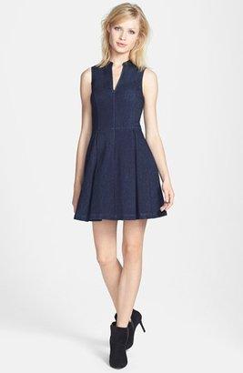 Dolce Vita Jacquard Fit & Flare Dress
