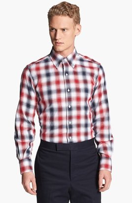 Thom Browne Buffalo Check Flannel Shirt