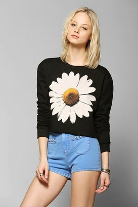 Truly Madly Deeply Daisy Cropped Pullover Sweatshirt