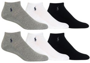 Polo Ralph Lauren Classic Sports Socks 6-Pack