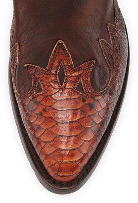 Frye Billy Fire Bird Boots, Dark Brown