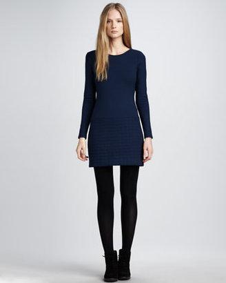 Theory Long-Sleeve Dress
